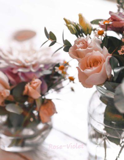 Rose & Violet - Bloemen en planten